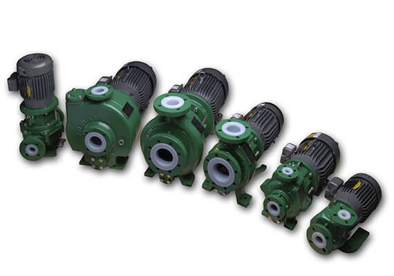 Sundyne Ansimag centrifugal pumps