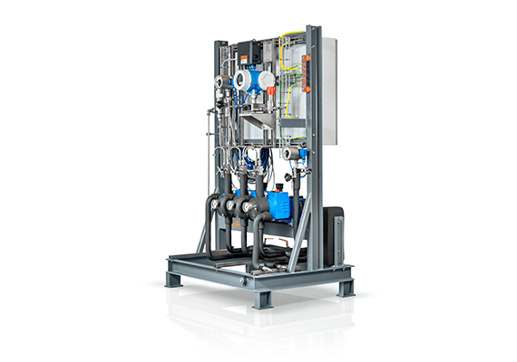 LEWA ecofoam metering system for the plastics industry
