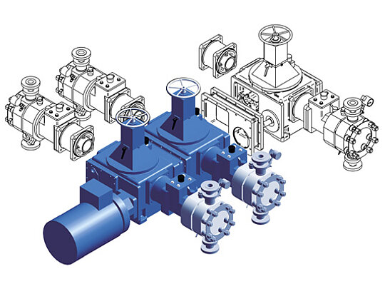 Pumps and systems in modular design