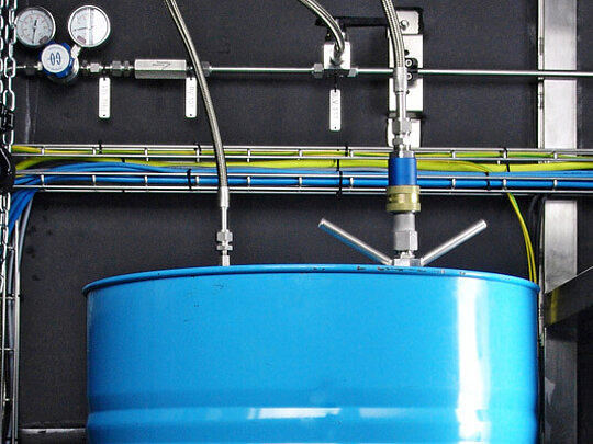 Special LEWA systems for gas odorization